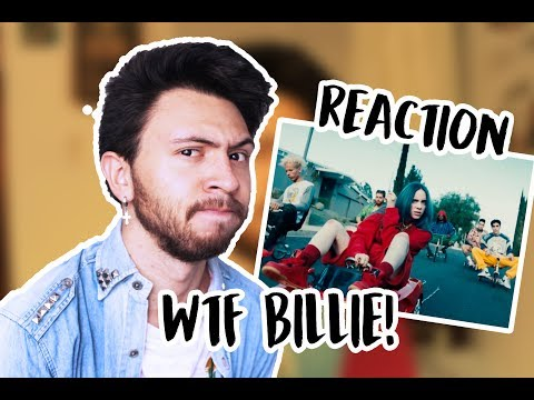 REACCIÓN A &39;BAD GUY&39; - BILLIE EILISH  Niculos M