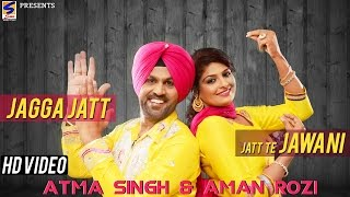 Jagga Jatt Jatt te Jawani || Atma Singh | Aman Rozi Live || Latest Brand New Album -2014