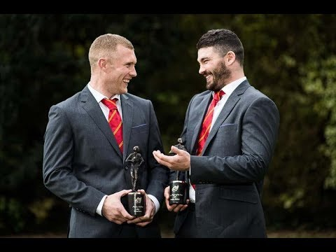 Keith Earls & Sammy Arnold Win Munster Rugby Awards