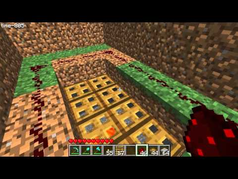 Minecraft Tutorial - Hatch Drawbridge Trapdoor