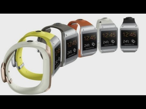 Samsung unveil Galaxy Gear smartwatch