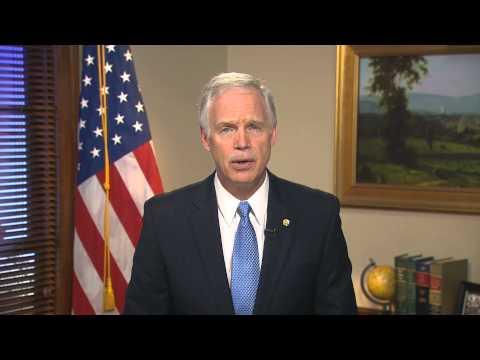 11/16/13 - Sen. Ron Johnson (R-WI) Delivers Weekly GOP Address on Obamacare