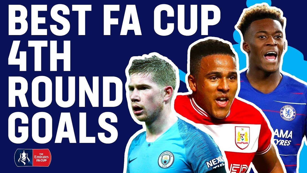 De Bruyne's Strike or Anderson's Curling Free Kick? | Best 4th Round Goals | Emirates FA C