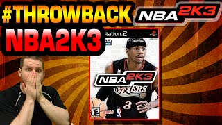 NBA 2K3 Throwback Gameplay