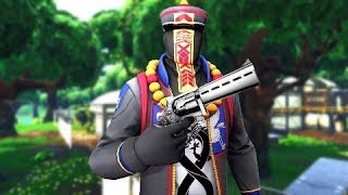 So they added a new SCOPED REVOLVER to Fortnite Mobile and I love it..
