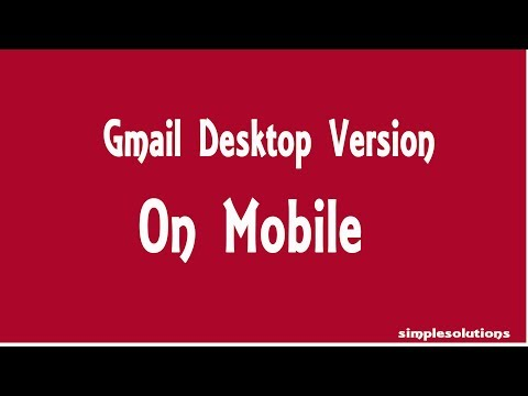 How To Open Gmail Desktop Version On Mobile