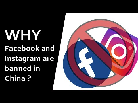 Facebook Ban : Why Facebook And Instagram Are Banned In China ? || Why This Happens || Facts ||