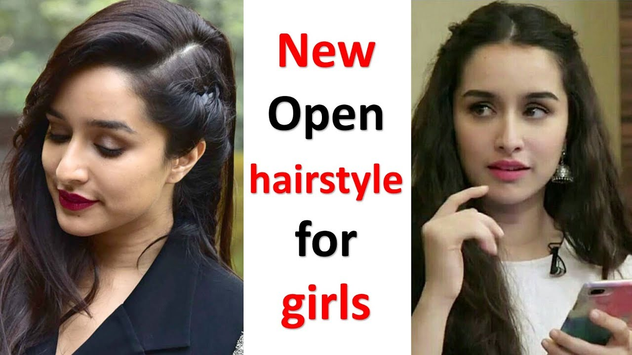New Open Hairstyle For Girls Hair Style Girl Easy Hairstyles Party Hairstyles Hairstyle Youtube
