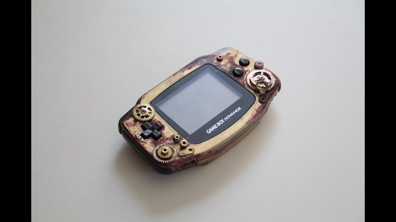 Custom Painted Gameboy Advance