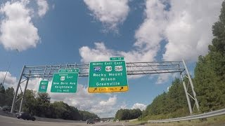 Driving Time-Lapse: US Highway 64/264 East - September 22, 2016