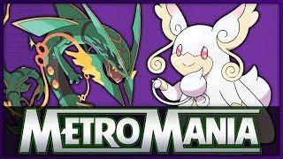 MetroMania Season 5 Semi Final 1 | Mega Rayquaza vs Mega Audino | Mega Pokémon Metronome Battle