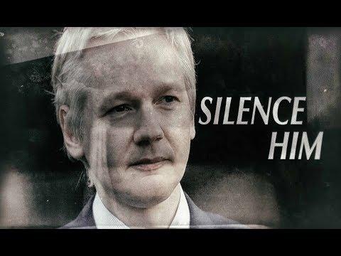 Assange: Silenced For Exposing UK False Flag