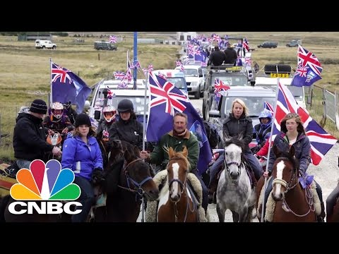 UK Sends Troops to Protect Falkland Islands | CNBC