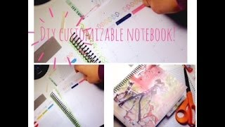 DIY Customizeable Spiral Notebook!(Hi Everyone!! I have been looking and looking for a perfect notebook and I'm hoping that this is it!! I like spiral notebooks for lists and things but don't like that I ..., 2014-06-12T01:01:56.000Z)