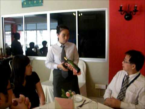SHRM College, Singapore- Advanced Diploma In Hospitality Management (Year 1 Pratical Exam)