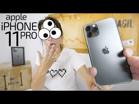 Apple iPhone 11 Pro unboxing -lo AMAS o lo ODIAS-
