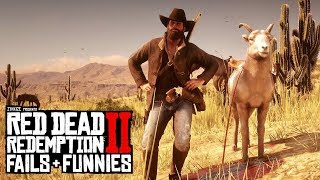 Red Dead Redemption 2 - Fails & Funnies #41