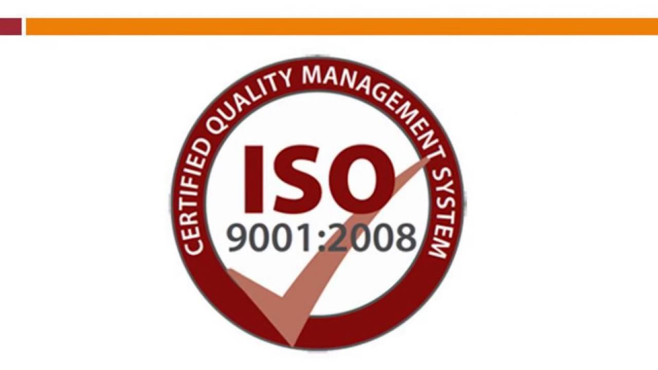 Iso 90012008 Certification Youtube