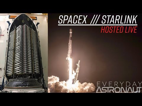 Watch SpaceX launch 60 Starlink satellites in ONE launch!