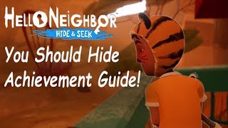 Hide and Seek You Should Hide Achievement Guide!