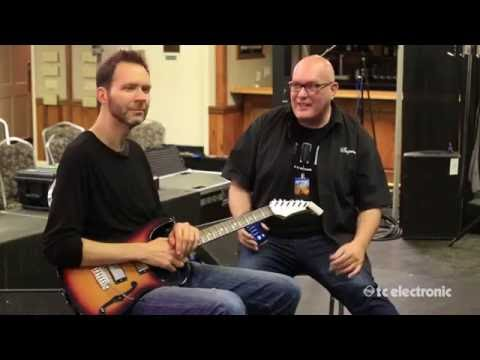 Paul Gilbert tries out WireTap Riff Recorder