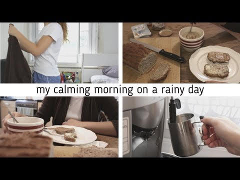 A Morning at Home on a Rainy Day | Calming Morning | Morning Routine