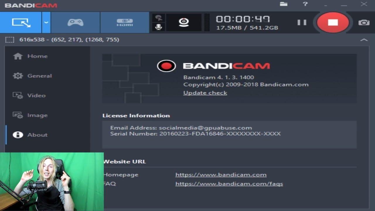 Bandicam Screen Recorder 4.6.3 Build 1725+ Crack Download [LATEST]