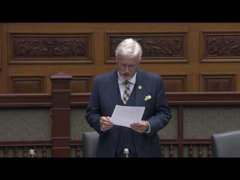 Late Show - MPP Nicholls Addresses Crisis in Corrections