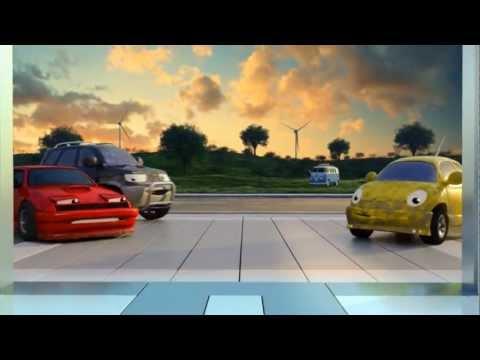 Cars Volkswagen Nutzfahrzeuge Bulli Service T5 Transporter Werbung
