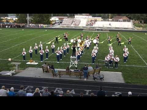 Indian Valley High School Band at Garaway Band Show 2013