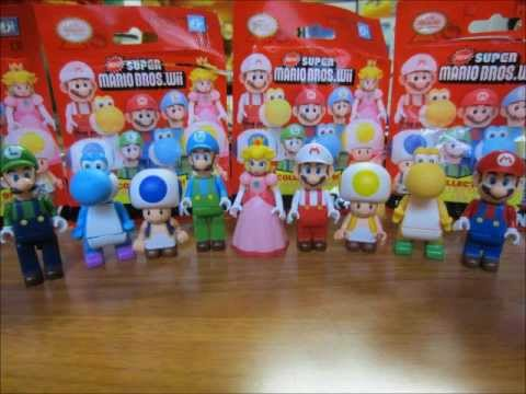 K Nex New Super Mario Bros Mystery Bag Figures Complete