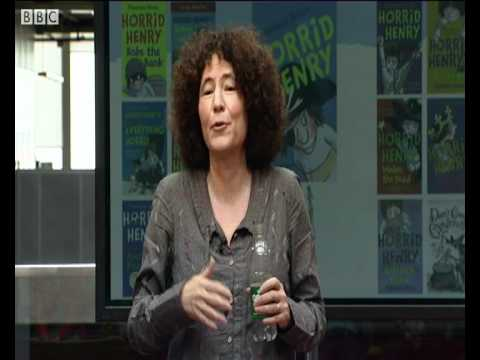 Authors Live Francesca Simon - How does Francesca come up with Horrid Henry stories?