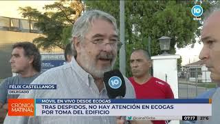 Ecogas despidió una docena de trabajadores y protestan en la sede de Córdoba