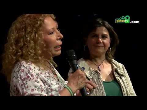 La directora Pilar Távora, en la presentación en Gines de la película 'Madre amadísima'