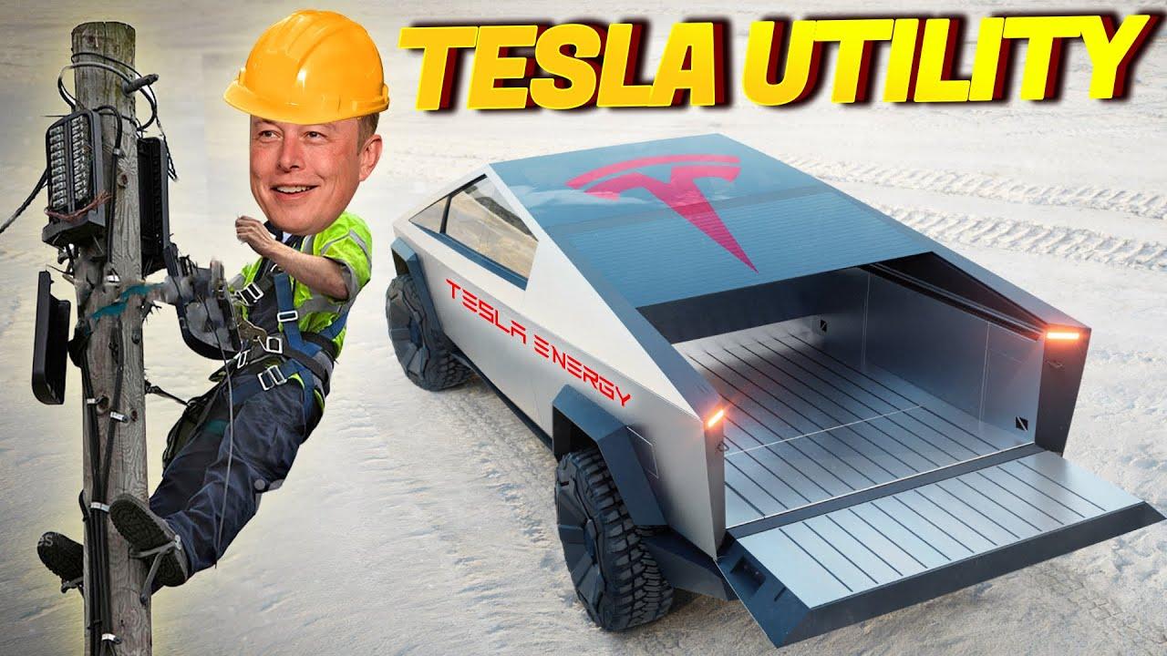 Tesla Time News - Tesla Becomes a Utility!