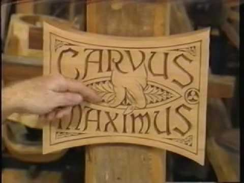 The Woodwright's Shop S4E06 Chip Carving with Wayne Barton