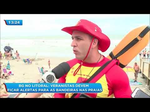 Adolescente morre afogado no Balneário de Santa Terezinha