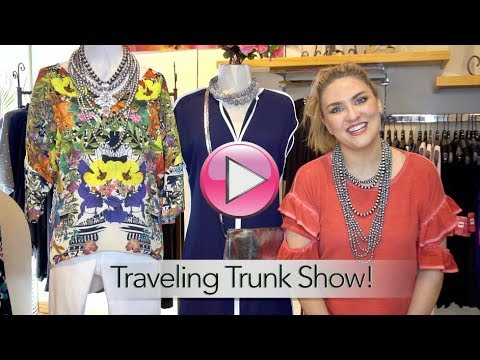Traveling Trunk Show!