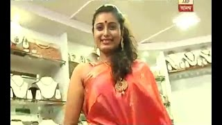Charu from Serial 'Aamar Durga' is busy in puja shopping: watch
