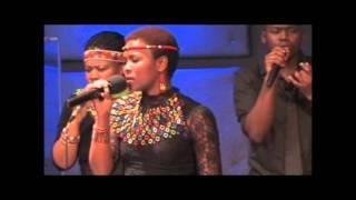 Nomapostile singsThina Sizwe (A song of the struggle)