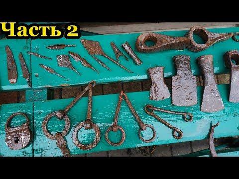 Чистка железных находок. Cleaning Of Iron Findings. Способ при котором сохраняется металл. Часть 2