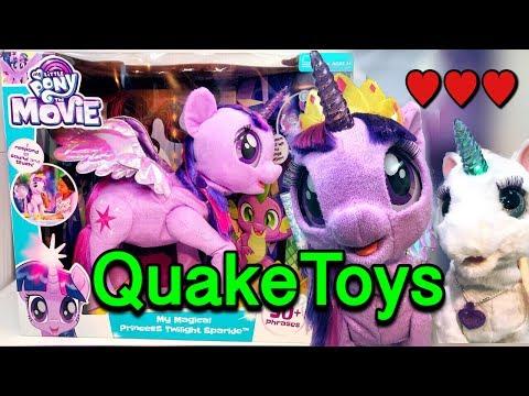 My Little Pony Magical Princess Twilight Sparkle NEW Movie Songs VS Starlily Alicorn MLP QuakeToys