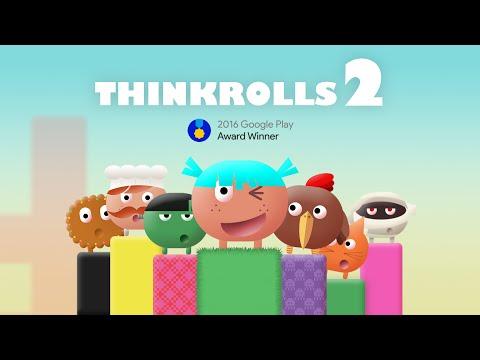 Thinkrolls2 - Official App Trailer on Google Play by Avokiddo