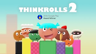 Thinkrolls2 - Official App Trailer on Google Play by Avokiddo