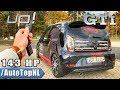 143HP VW UP GTI Stage 1 Elmerhaus POV REVIEW by AutoTopNL