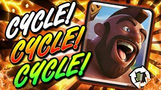 2.6 SUPER AGGRESSIVE LADDER DECK! NEW HOG CYCLE!! 100% WINS!!