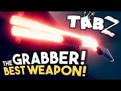 TABZ - NEW WEAPON: THE GRABBER! New Update, Labyrinth, Enemies - Totally Accurate Battle Zombielator