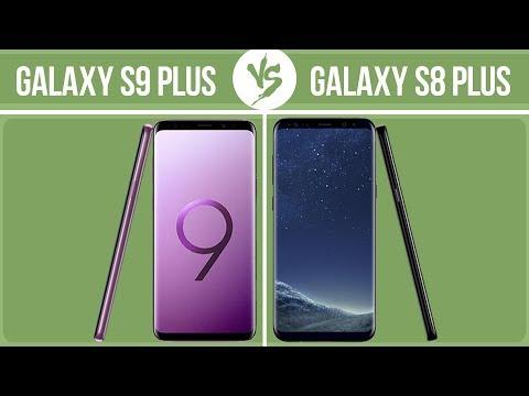 Samsung Galaxy S9 Plus Vs Samsung Galaxy S8 Plus ✔️