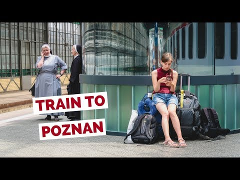 Poland Train Journey from Wrocław to Poznań travel vlog