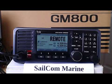 SailMail SSB email with the Icom GM800